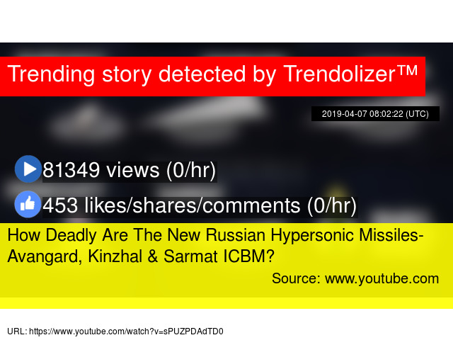 How Deadly Are The New Russian Hypersonic Missiles- Avangard