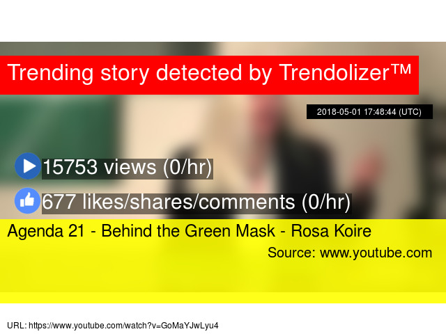 Decoding UN Agenda 21: Behind the Green Mask w/ Rosa Koire ...